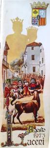 Programa Fiestas 1973 - Luceni
