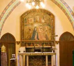 Retablo Iglesia de Luceni